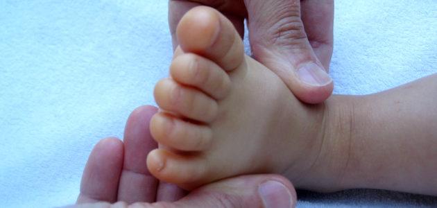 Massage bébé